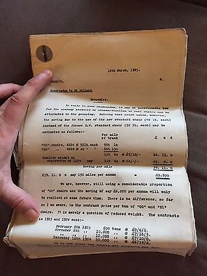 Large Collection Of British Rail 1925 Chief Engineers Office Paddington Letters