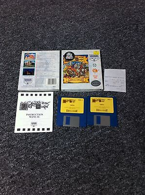 Genuine Commodore Amiga Game - DEFENDER OF THE CROWN - Complete - VGC