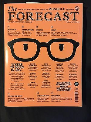 Monocle Magazine The Forecast 2015 Issue 01 First Issue / Mint condition RRP £10