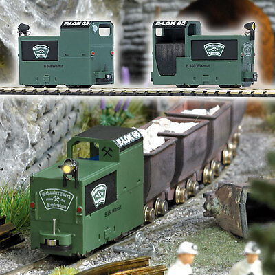 Busch 5011 HOn2 Schaubergwerk B 360 Mine Locomotive 3V Battery Powered