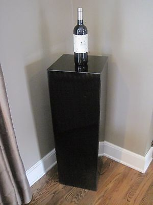 Sleek Estate Black Laminate Pedestal # 3
