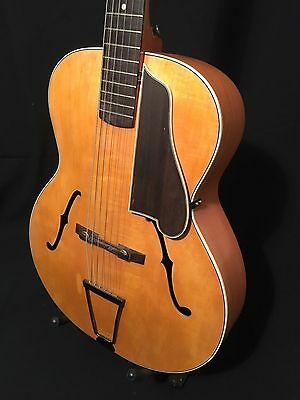 Vintage G Houghton Reliance Jazz archtop guitar – English made