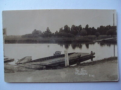 The Ferry , Moulsford - circa 1905 undivided back - real photograph