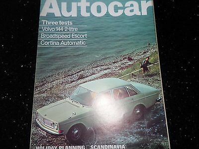 "Volvo 144 2.0 Saloon 1969 ""Autocar"" Road Test Magazine"