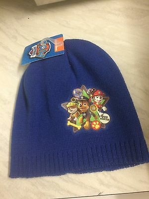 Brand New Toddler/kids Paw Patrol Winter Hat One Size