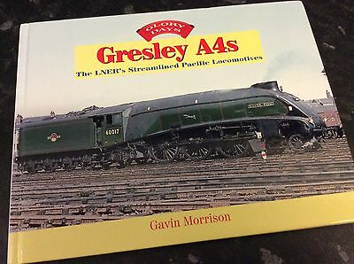Gresley A4's The LNER's Streamlined Pacific Locomotives, hardback , pre-owned.