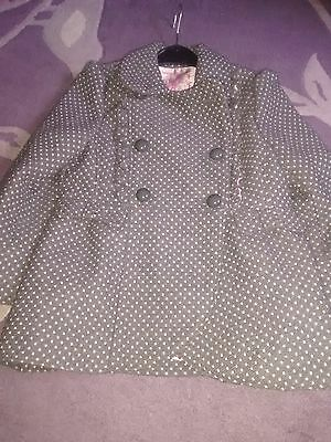 Girls gorgeous winter coat 4-5yrs
