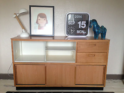 Vintage Retro long Kandya Kitchen cabinet/sideboard by Frank Guille Mid Century