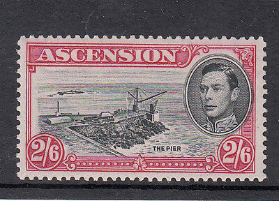 Ascension King George VI 1938 2/6d S.G. 45c l/m/m