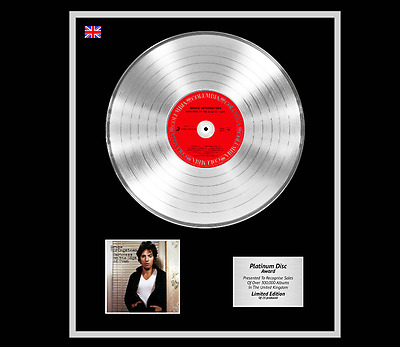 BRUCE SPRINGSTEEN Ltd Edition CD Platinum Disc DARKNESS ON THE EDGE OF TOWN