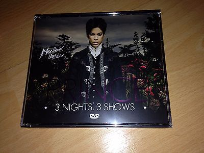 ( No cd ) PRINCE 3 DVD - MONTREUX 2013  -  3 COMPLETE SHOWS