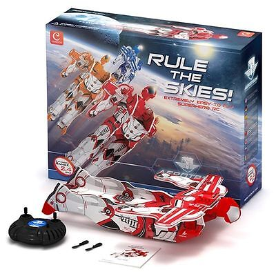 Brand new Aerotron flying RC 2 channel adventure man in red/white RRP 49.99