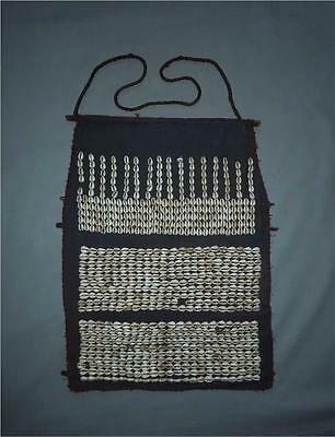 Antique India TOP AGED USED NAGA TRIBE HEADHUNTERS CEREMONIAL DANCE APRON