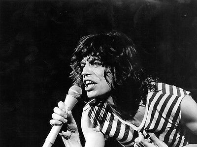 Mick Jagger Rolling Stones Rock Group Band 8X10 Music Photo Picture