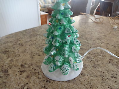 Vintage Ceramic Christmas Tree ( green in color)