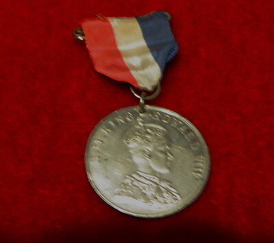 Royal medals: Coronation of King Edward V111, 1937, abdicated