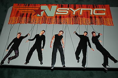 NSync Promotional Marionette Figure Retail Store Display No Strings Attached