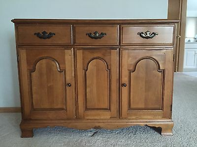 Antique Chest Sideboard Buffet Cabinet