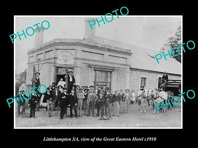 OLD LARGE HISTORIC PHOTO OF LITTLEHAMPTON SA, THE GREAT EASTERN HOTEL c1910