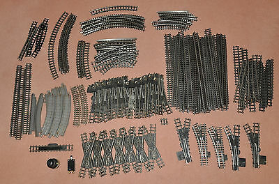 Vintage Bundle of Tri-Ang Track Over 150 Pieces OO Gauge Train E.T.A. Switch