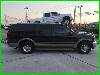 2000 Ford Excursion Limited 4dr SUV 2000 Limited 4dr SUV Used Turbo 7.3L V8 16V Automatic RWD SUV