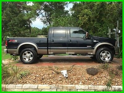 2006 Ford F-250 King Ranch 4dr Crew Cab 4WD SB 2006 King Ranch 4dr Crew Cab 4WD SB Used Turbo 6L V8 32V Automatic 4WD