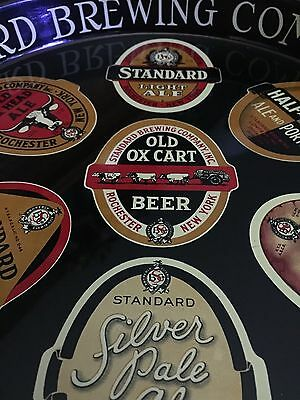 Standard Beer Tray  Nos Condition  Rochester, Ny.