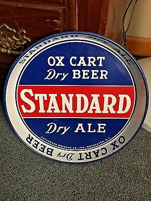 Standard Ox Cart Dry Beer And Ale Tray  Rochester, Ny.
