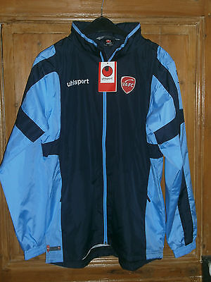 Veste Impermeable  Football Vafc Valenciennes Neuf Taille L