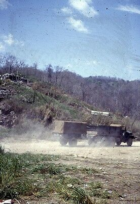 Vietnam Slide- Army GI w/2nd Batt 16th Inf 1ST INFANTRY DIVISION collection #46