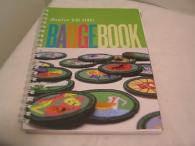 Junior Girl Scout Badge Book Spiral Bound Girl Scouts Of The USA 2001