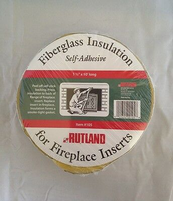 RUTLAND Fiberglass Fireplace Insert Insulation NEW! FREE USA SHIPPING! #105