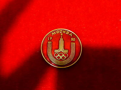 Russian Olympic games badge 1980