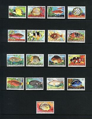 Cocos Islands 1979 Fishes Set MNH