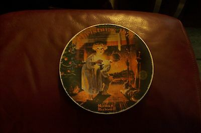 Decorative Plate Christmas 1979 rockwell