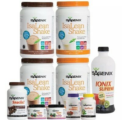 Free Post Isagenix 30 Day Nutritional Cleanse & Weight Loss Program Pack