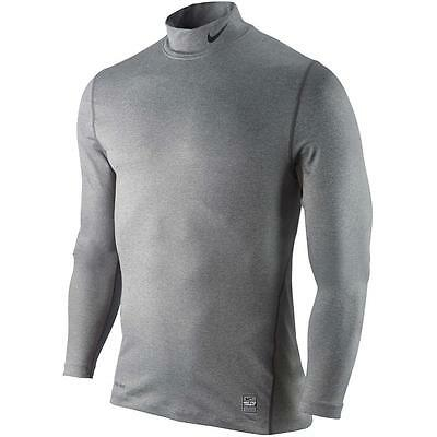 Nike Golf Core Mock Compression Long Sleeves Base Layer Tee Size Large