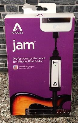 BRAND NEW Apogee Jam 96K Professional Guitar Input For iOS Lightning FAST SHIP