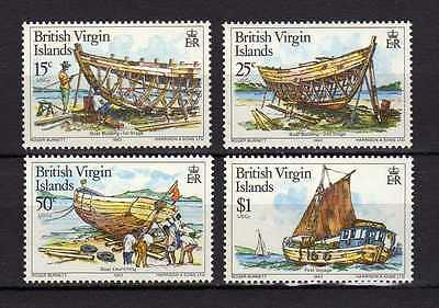 British Virgin Islands 1983 Traditional Boat building MNH
