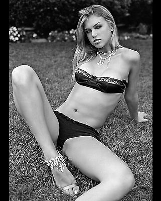 Adrianne Palicki 8X10 Photo Picture Pic Hot Sexy Tiny Bra And Panties 1