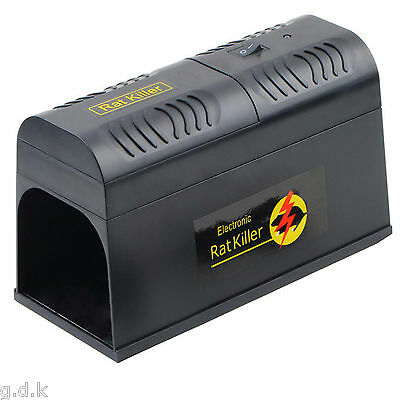 Electronic rat trap, rat zapper, electric mouse / rat trap, Rodent Repeller,,,..