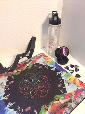 Coldplay Head Full of Dreams Tour VIP Swag