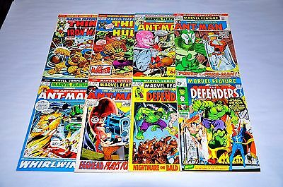 Marvel Feature 1 2 5 6 7 8 11 12 Lot 1st Defenders Run Capital City Collection