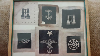 Collection of 6 Naval Ratings