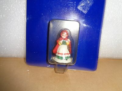 NIP Holiday Time Village Collectibles Girls Holding Flowers