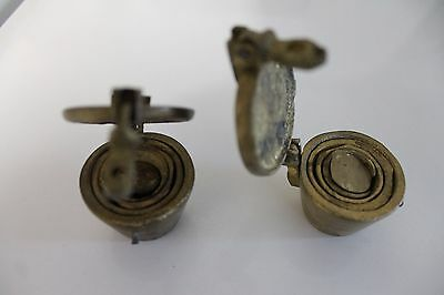 Brass apothecary nesting weights