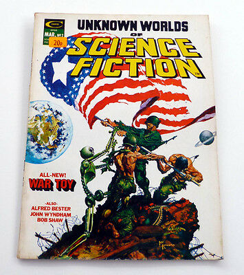 Unknown Worlds Of Science Fiction No2 1975 War Toy, Day Of The Triffids