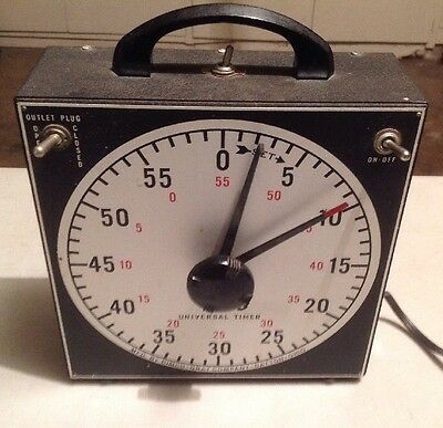 Dimco-Gray GraLab Universal 60 Minute Timer With Buzzer And 2 Outlets