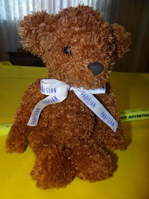 """Teddy Bear 2001 Commonwealth, SAKS Department Store Group Soft, brown plush 12"""""""