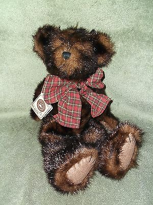 """Boyds Bear Sable B. Bearsdale 2001 Retired #510810-05 With Hang Tag Plush 14"""""""
